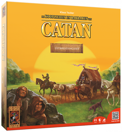 Catan - Uitbr.3: Kooplieden en barbaren 999-KOL20B (999 Games) 12+