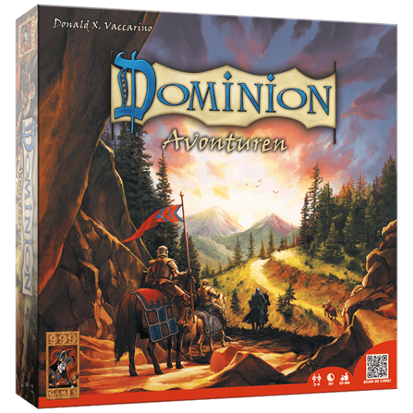 Dominion - Uitbr.: Avonturen 999-DOM20 (999 Games) 10+
