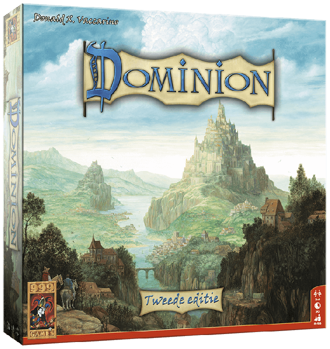 Dominion - 2de editie 999-DOM01N ( 999 Games) 8+