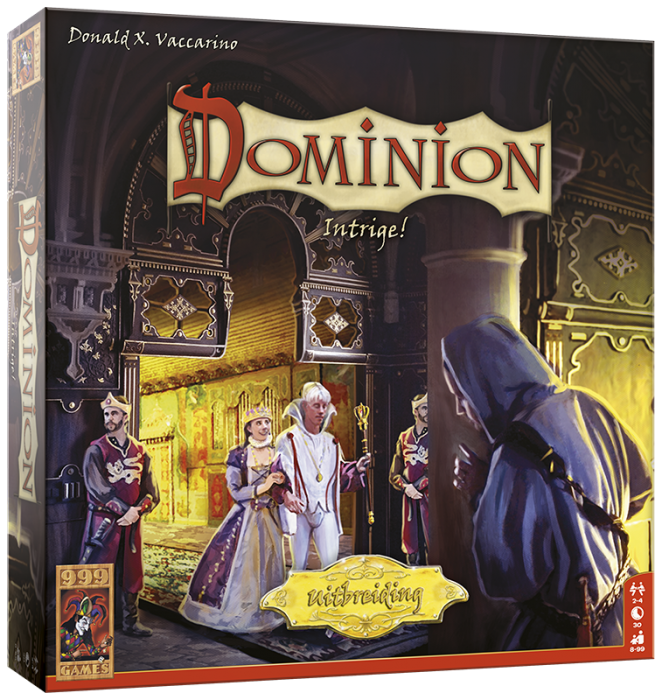 Dominion - Uitbr. Intrige 2de editie 999-DOM03 (999 Games) 8+