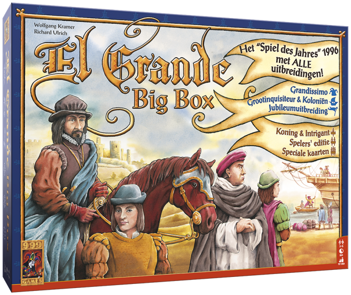 El Grande Big Box 999-GRA03 (999 Games) 12+