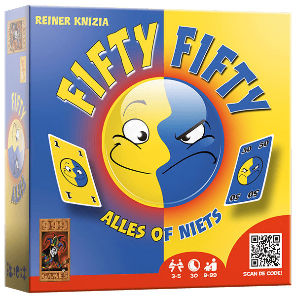 Fifty Fifty 999-FIF01 (999 Games) 9+