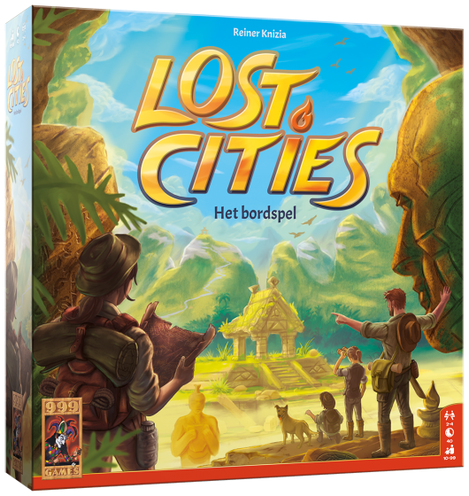 Lost Cities - Het bordspel NL 999-LOS04 (999 Games) 10+