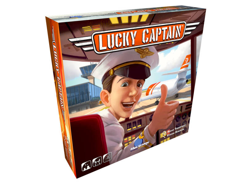 Lucky captain NL/FR (Blue Orange Games) 7+