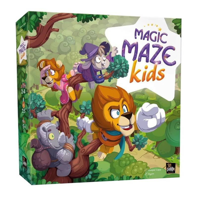 Magic Maze Kids NL/FR (Sit Down!)