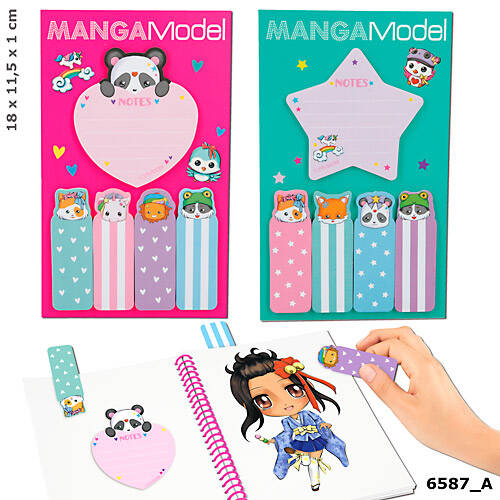 Sticky notes 6587 (Manga Model)