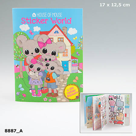 Stickerworld 8887 (House Of Mouse)