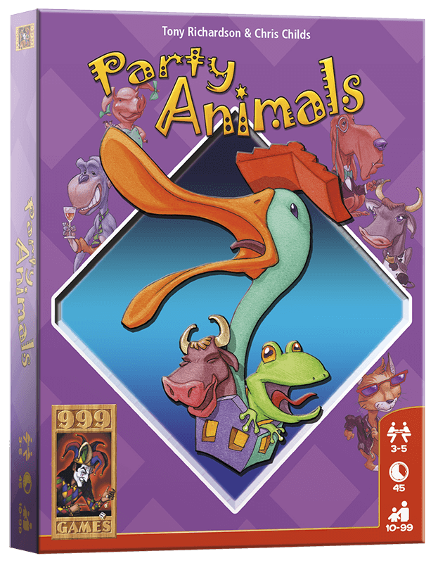 Party Animals 999-PAR01 (999 Games) 10+