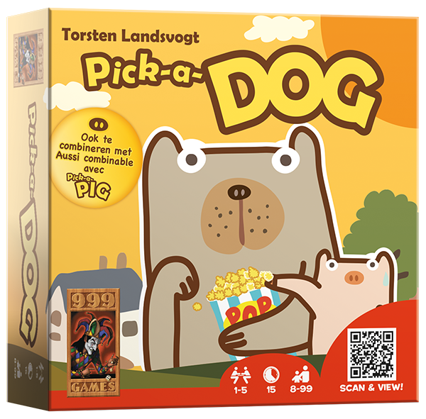 Pick-a-dog 999-PIC01 (999 Games) 8+