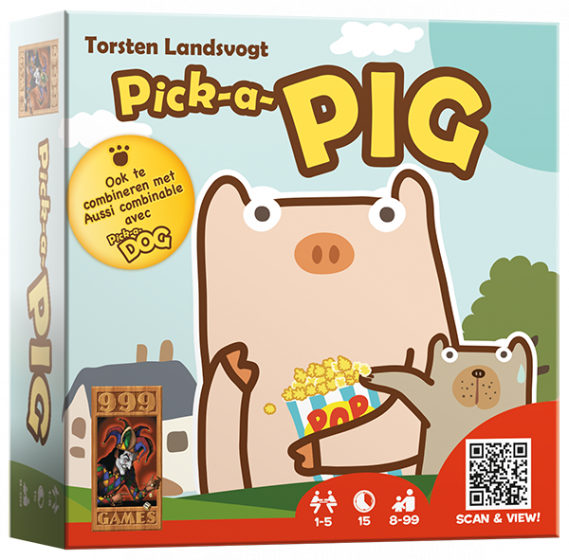 Pick-a-pig 999-PIC02 (999 Games) 8+