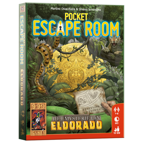 Pocket Escape Room - Het mysterie van Eldorado 999-POC04 (999 Games) 12+