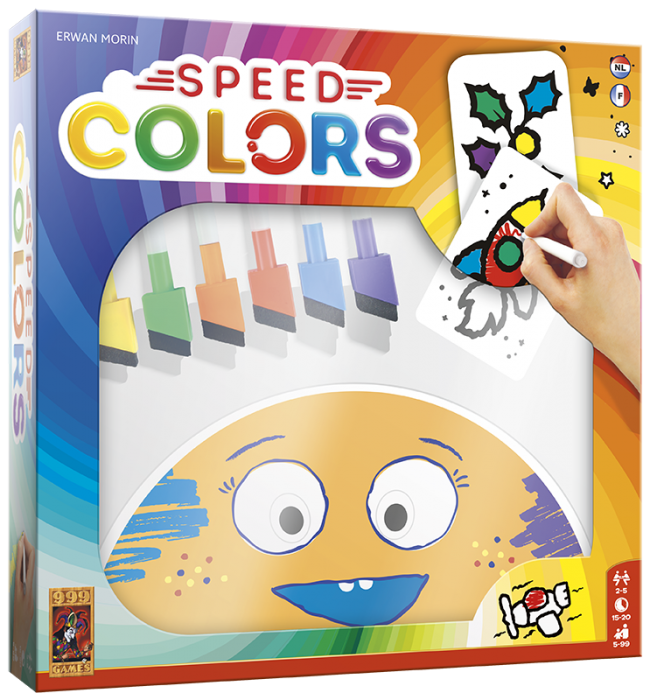 Speedcolors 999-SPC01 (999 Games) 5+