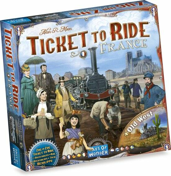 Ticket To Ride - Map 6: France/Old West (Days Of Wonder)