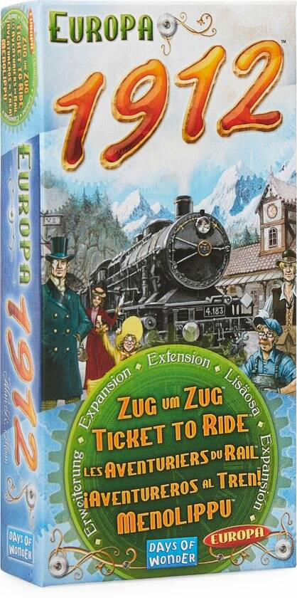 Ticket To Ride - Europe 1912 (Days Of Wonder)