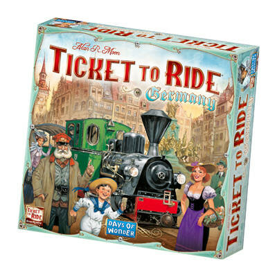 Ticket To Ride - Germany (Day Of Wonder)