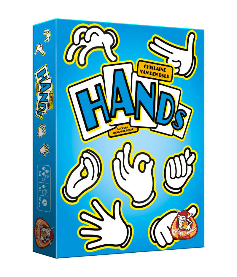 Hands WGG1503 (White Goblin Games) 8+