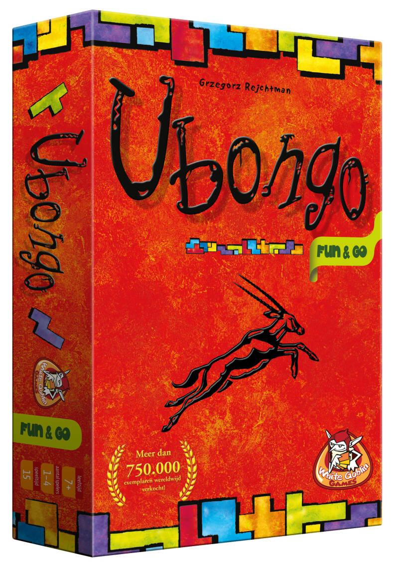 Ubongo - Fun & Go NL (White Goblin Games)