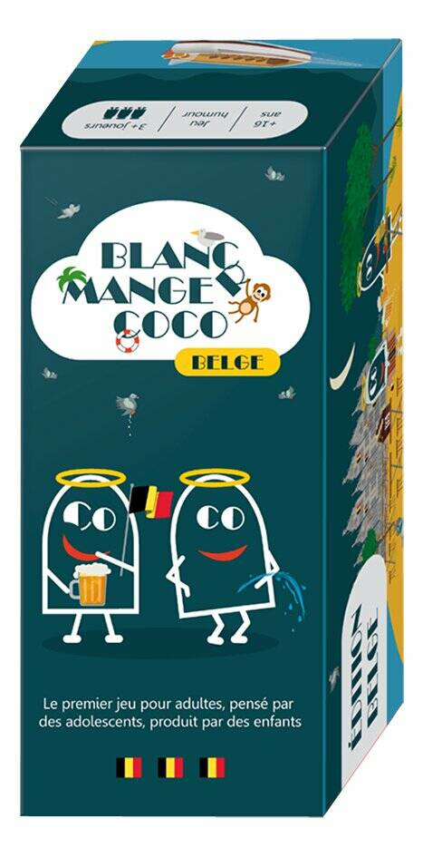 Blanc Manger Coco - Edition Belge FR (Geronimo Games) 16+