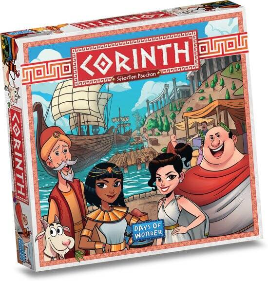Corinth NL/FR (Days Of Wonder) 8+