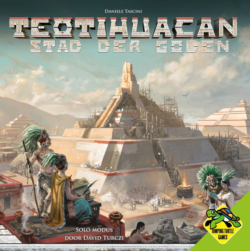 Teotihuacan - Stad der Goden (Jumping Turtle Games) 12+