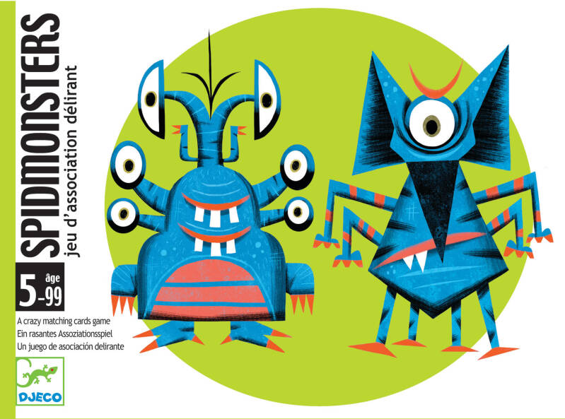 Spidmonsters DJ05193 (Djeco) 5+