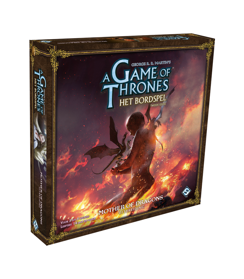 Game Of Thrones - Uitbr: Mother of dragons (Fantasy Flight Games)