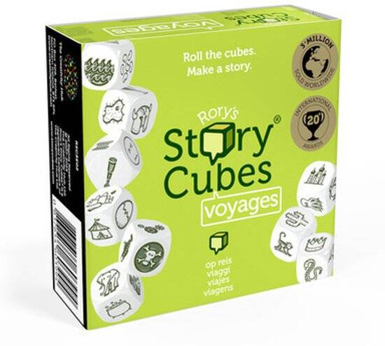 Rory's Story Cubes - Voyages *groen* (Zygomatic)