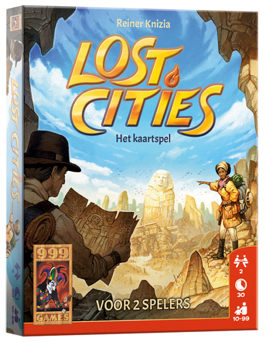 Lost Cities - Het kaartspel 999-LOS02 (999 Games) 10+