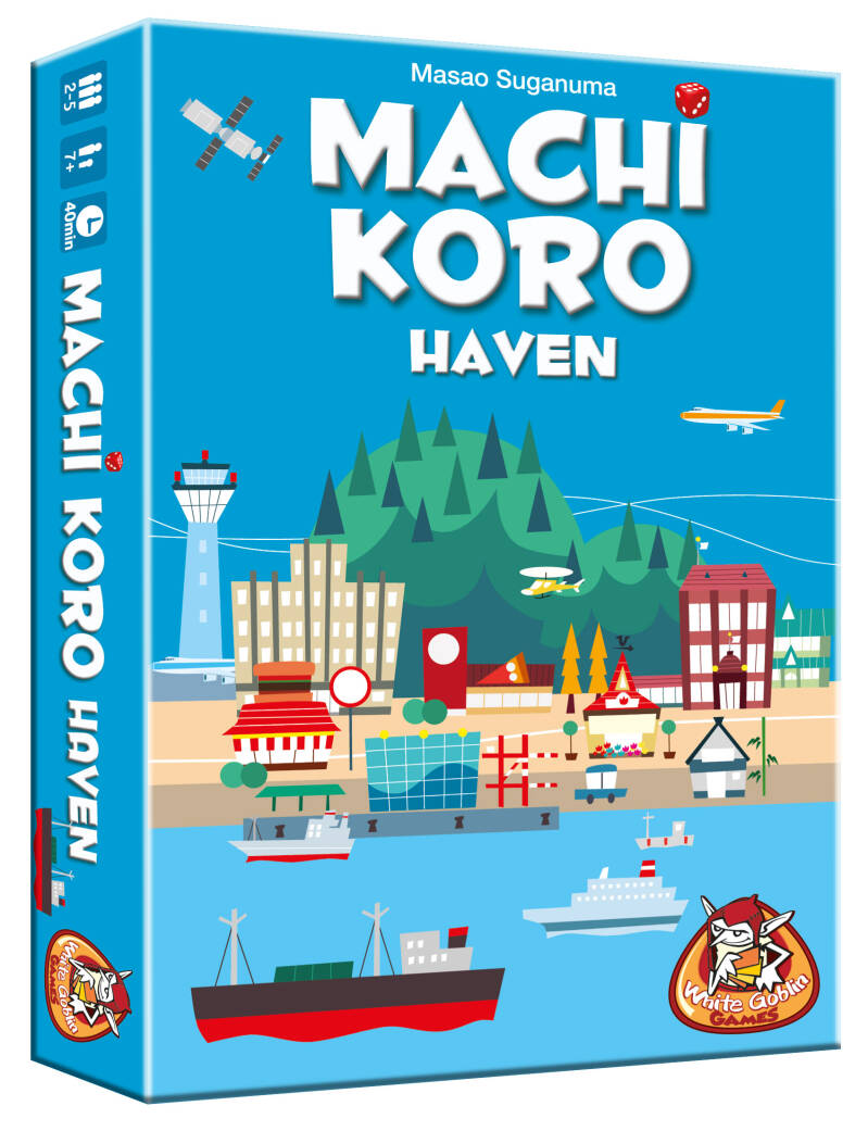 Machi Koro - Uitbr.: De Haven NL WGG1509 (White Goblin Games) 7+