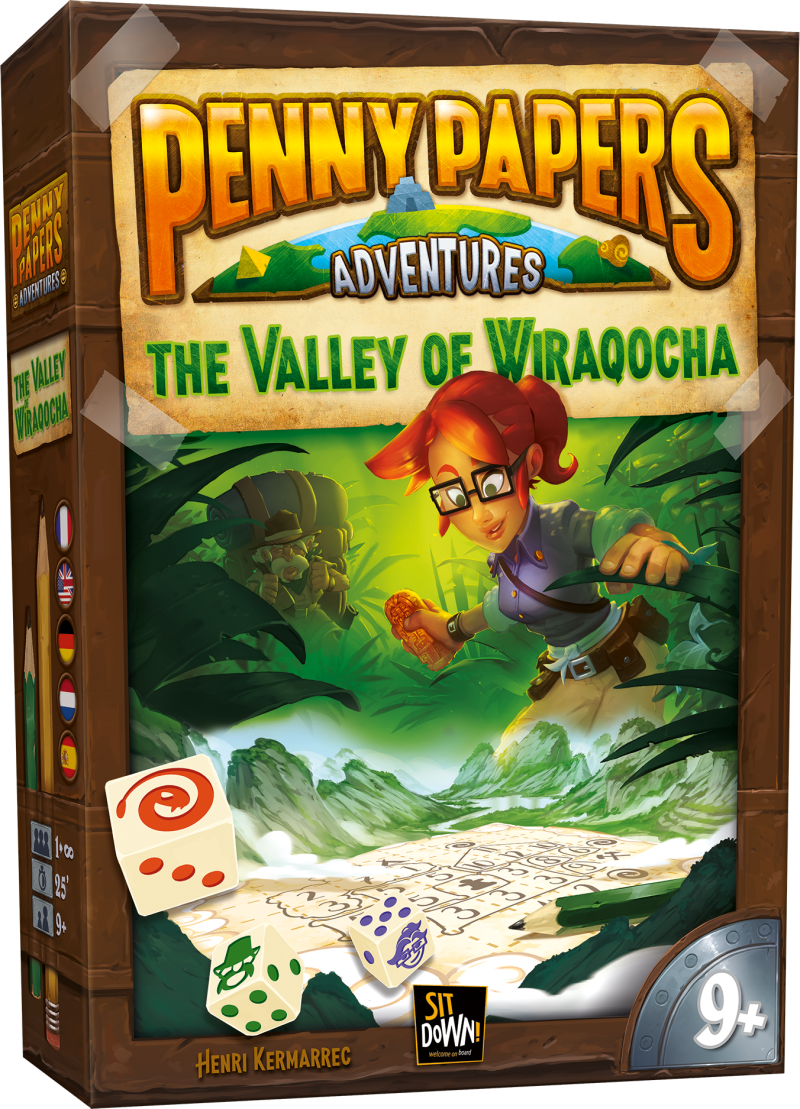 Penny Papers - The valley of Wiraqocha (Sit Down) 9+
