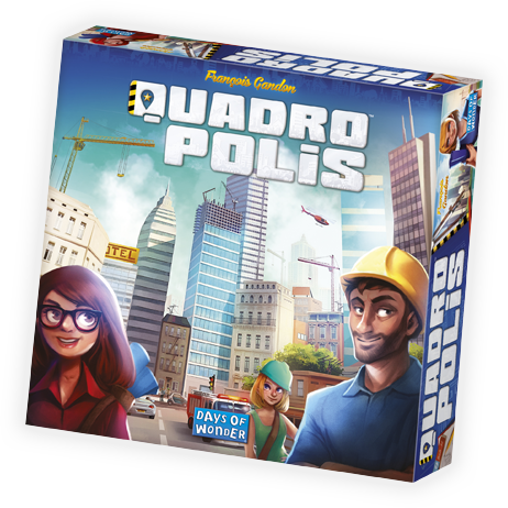 Quadropolis (Days Of Wonder) 8+