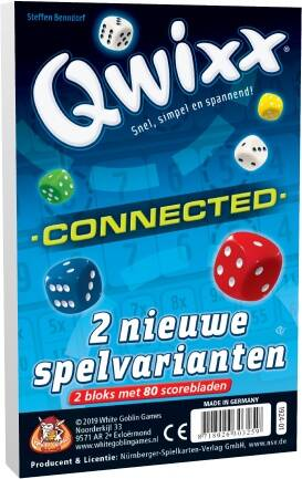 Qwixx - Connected (navulbloks) WGG1924 (White Goblin Games) 8+