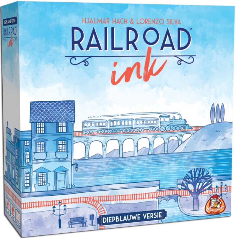 Railroad Ink - Diepblauwe versie WGG1918 (White Goblin Games) 8+