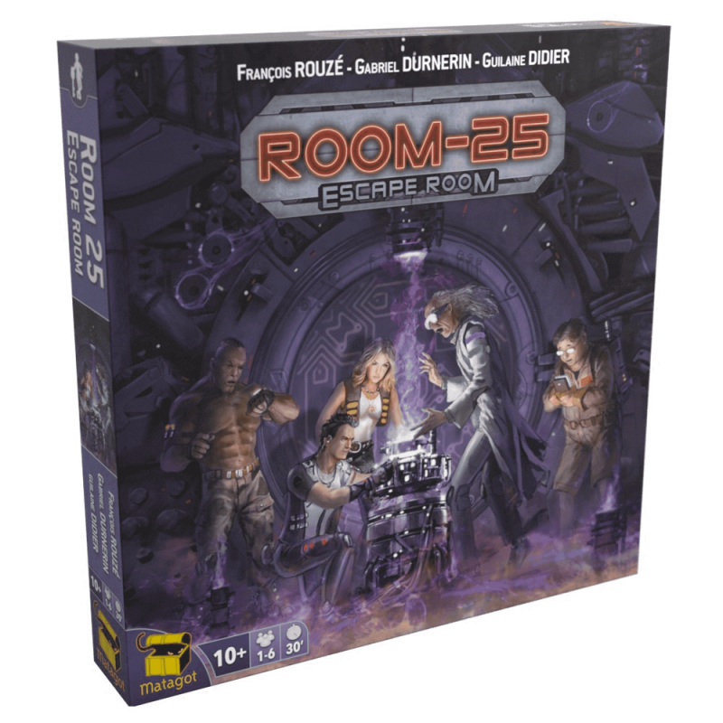Room 25 - Uitbr. Escape Room (Matagot)