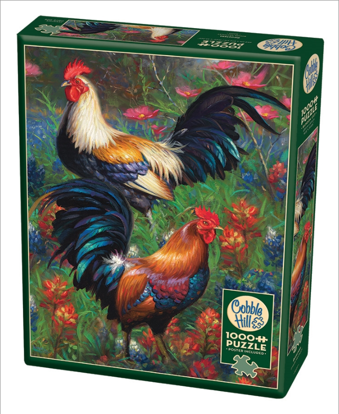 Roosters 1000pcs 5880217 (Cobble Hill)