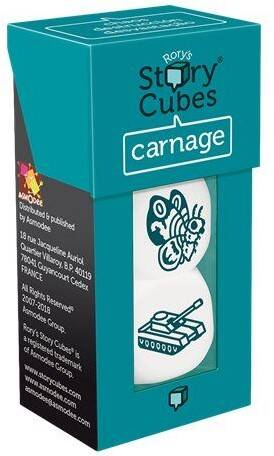 Rory's Story Cubes - Uitbr.: Carnage (Zygomatic)
