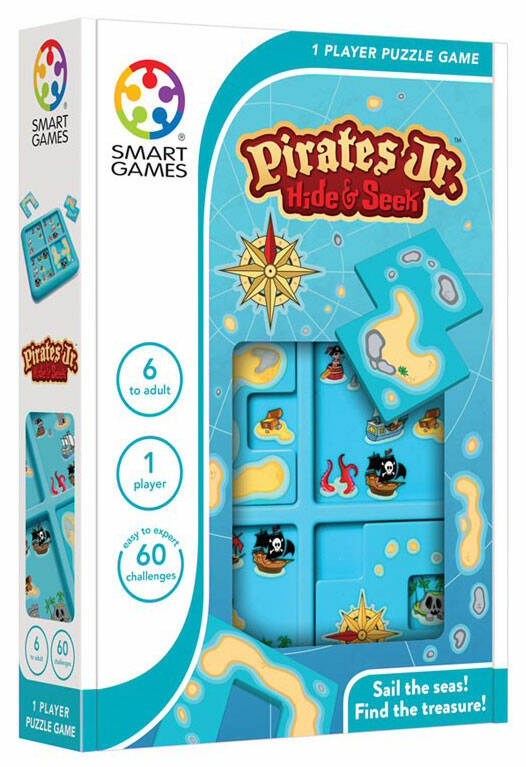 Pirates Jr. - Hide and seek SG432 (Smartgames) 6+