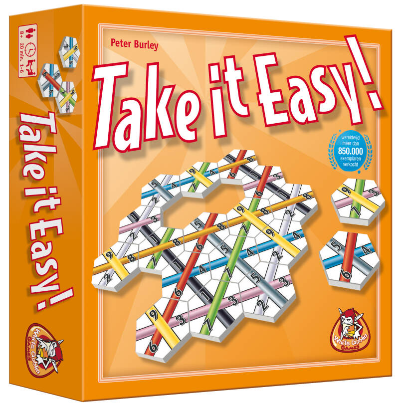 Take it easy! NL/EN WGG1716 (White Goblin Games)