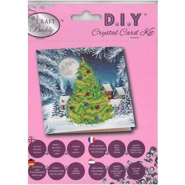 Christmass Tree (Crystal Card Kit)