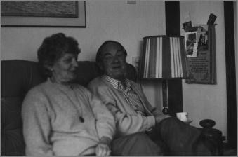 Nalda Vogelzang # 112 and husband William Boon # 121 in their home in Purmerend- 1991.