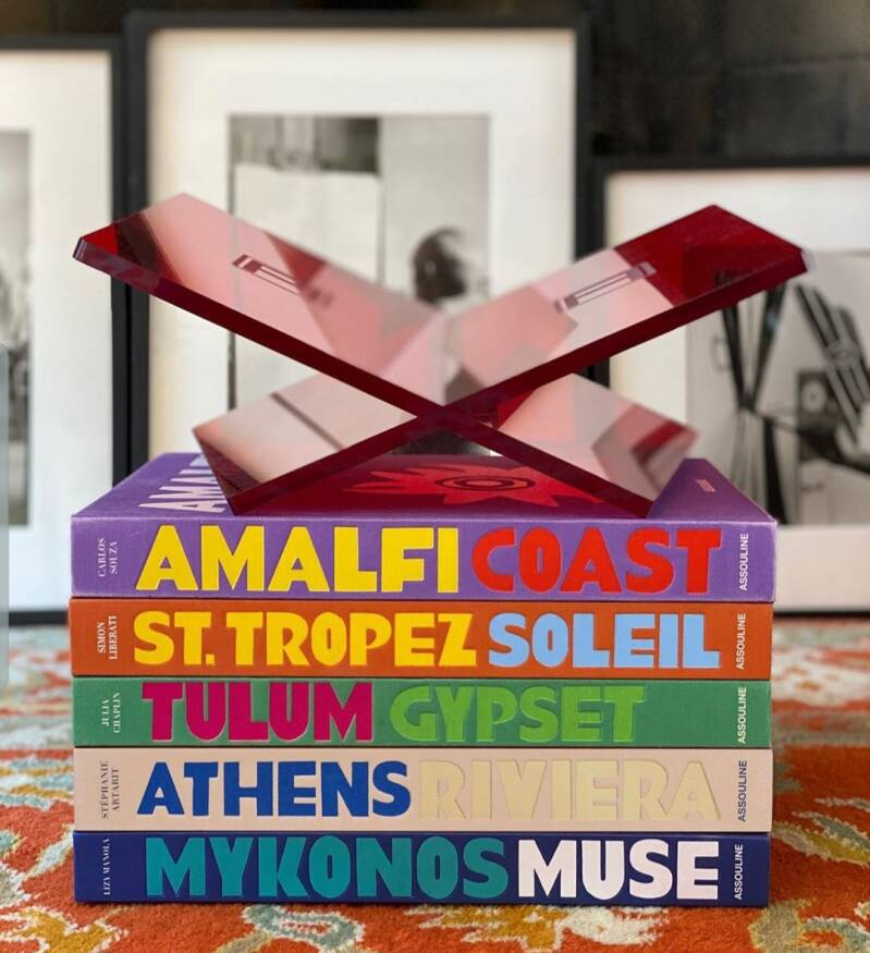 Assouline luxe coffeetable books