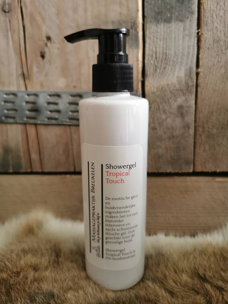 Showergel Tropical Touch 200ml.
