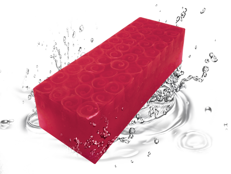 Soap Rose touch