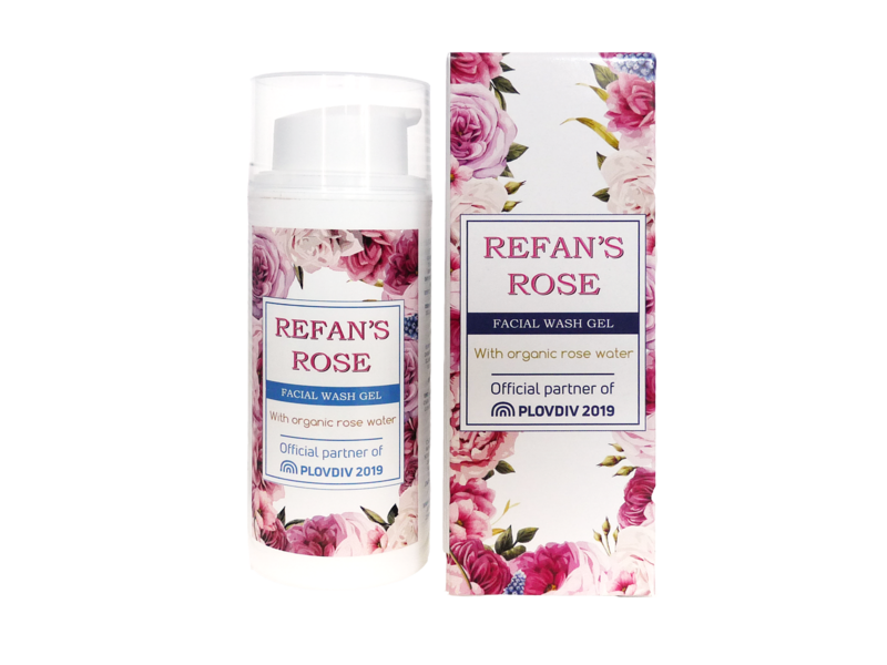 Refans Rose Facial wash