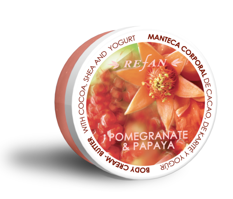 Bodycream Butter Granaatappel Papaya 200 ml