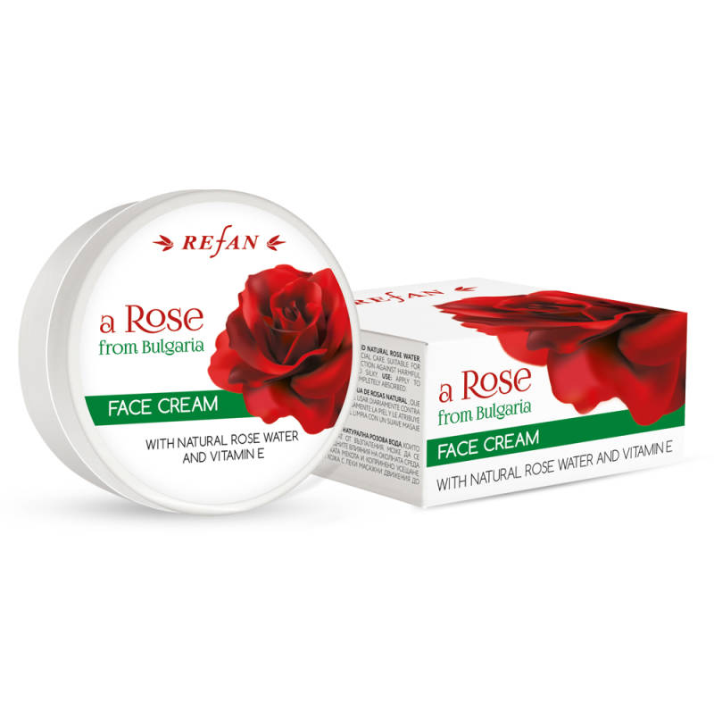 Facial cream Rose from Bulgaria 50 ml