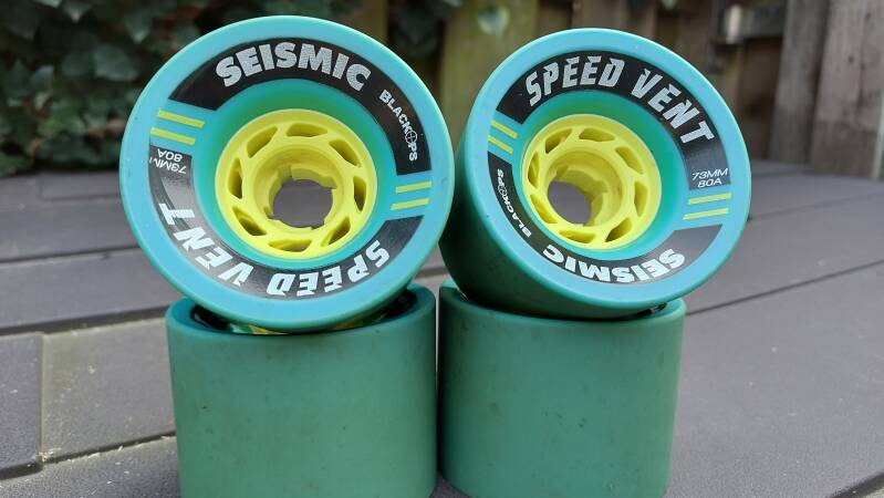 SEISMIC Speedvents 73mm 80a - USED