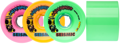 Seismic Hotspots 76mm Mint - 81.5a NEW!