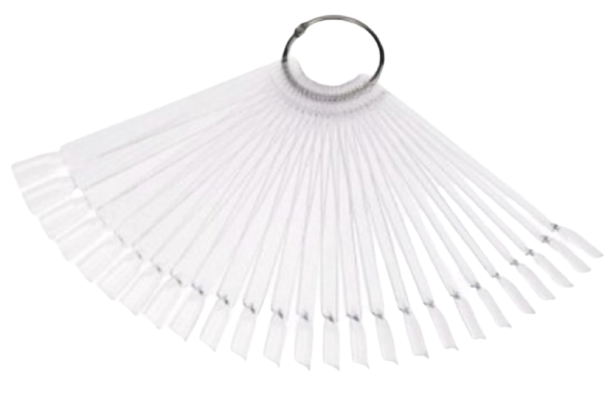 50x Tips Clear Ring Lang