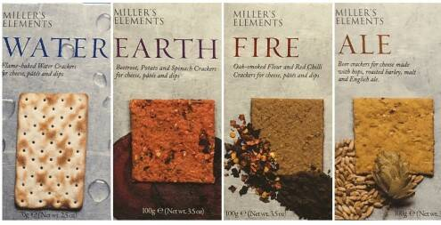 Millers Elements Crackers